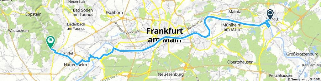 Nürnberg - Koblenz Etappe 10/13