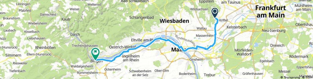 Nürnberg - Koblenz Etappe 11/13