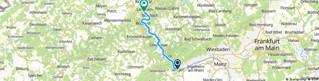 Nürnberg - Koblenz Etappe 12/13