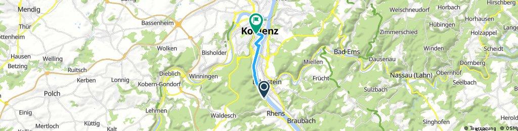 Nürnberg - Koblenz Etappe 13/13