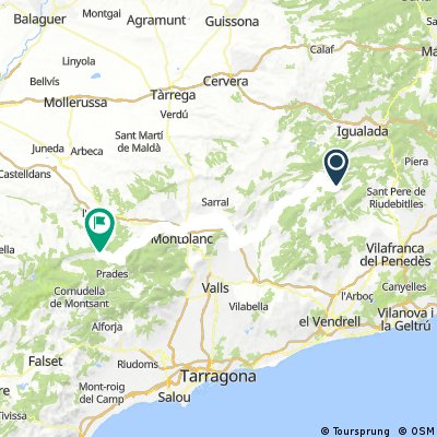 Route Spain 2017 day 4