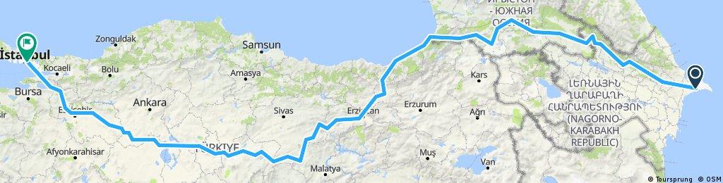 Kaukasus und Anatolien