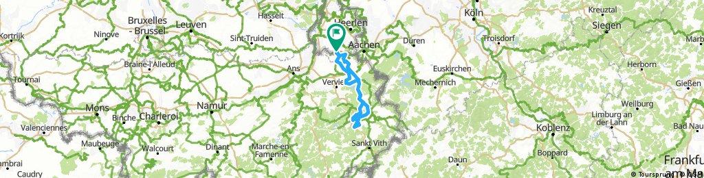 Ronde om Eupen en Malmedy