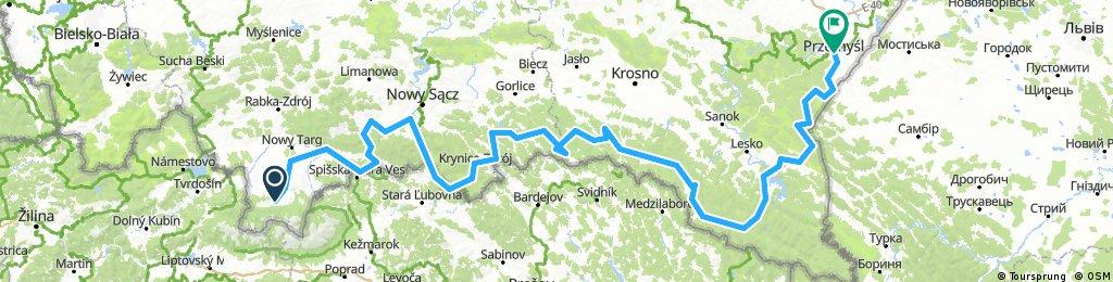 10.Zakopane - Przemyśl, 28.07- 5.08.2017