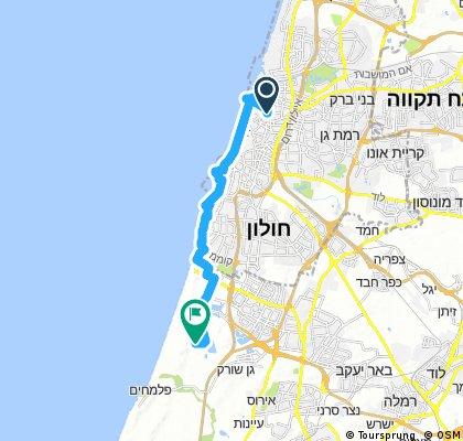 אופניים חשמליות תל אביב - לבת ים