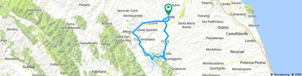 Jesi-Cingoli-Apiro-Castelplanio