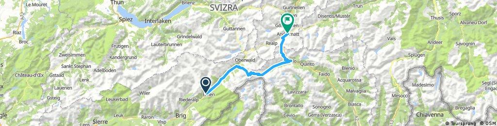 Pässe der Zentralschweiz day 2