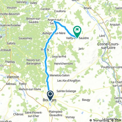 Bourges - Argent - Vailly