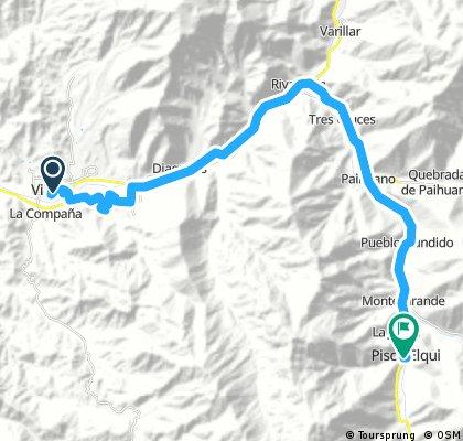 Vicuña - Pisco Elqui