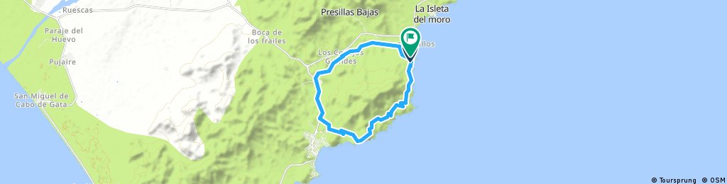 Loop around Los Frailes