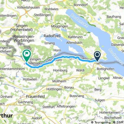 Day 1 Konstanz to Stein am Rhein