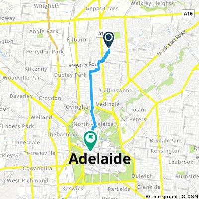 ellis street to hindley street