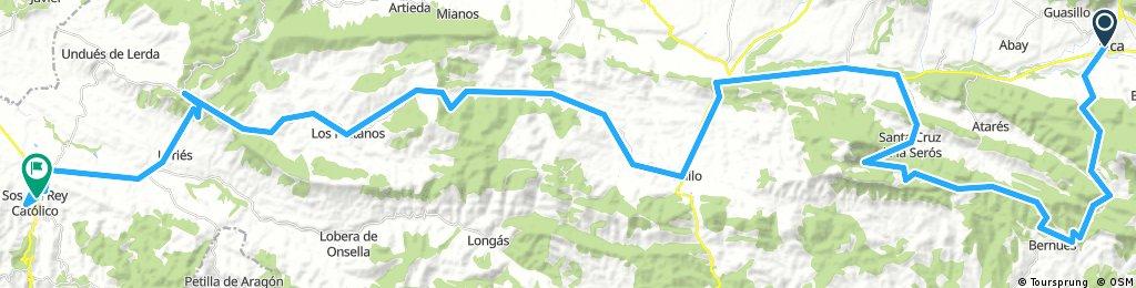 2001 - jaca - sos del rey catolico - 102 km - 1630 d