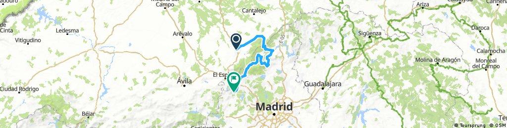2000 - avila - san lorenzo del escorial - 160 km - 3030 d