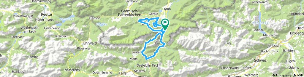 Mittenwald-ElmauerAlm-HoherKranzberg-Arnspitzrunde