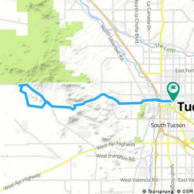 Gates pass McCain loop road