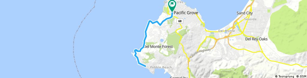 Easy 17-mile drive
