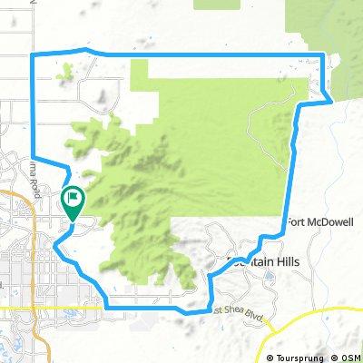 loop around mcdowell M park 35 min from Monte Vista