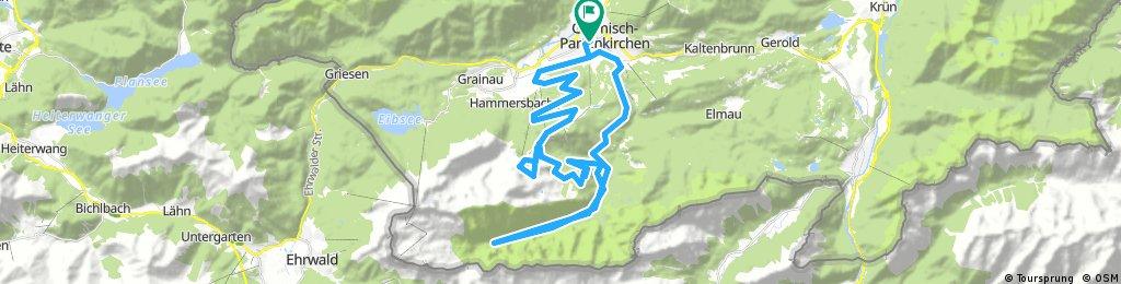 Garmisch- Osterfelderkopf-Reintalangerhütte