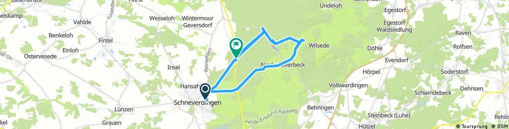Schneverdingen rundtour Wilseder Berg