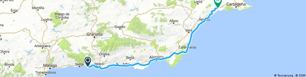 2018/5 Motril  to Aguilas