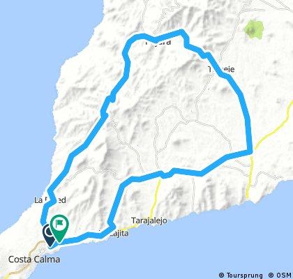 Fuerteventura - Costa Calma - Pajara - Caracol - Costa Calma