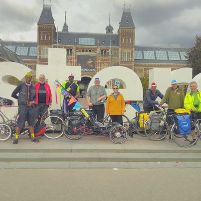 2017 London to Amsterdam Ride