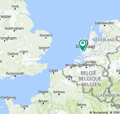 2017 London to Amsterdam Ride