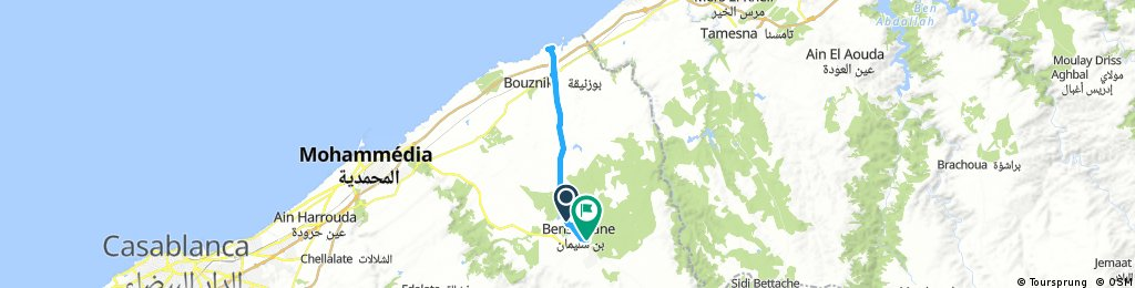 From Bensliman to Bouznika