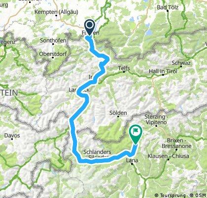 Neu Füssen bis Quellenhof