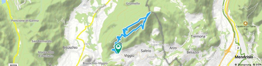 Viggiù - Monte Orsa - Monte Pravello - Viggiù