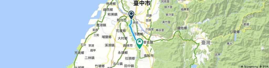 139線道 : 74甲(彰南路口) to 鳳山寺