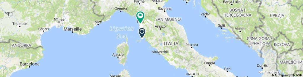 2017 - Italien - Übersicht
