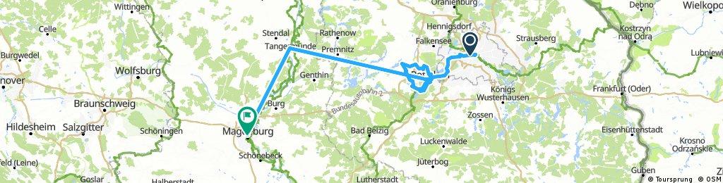 Královská sídla, Berlín, Postupim a Magdeburg