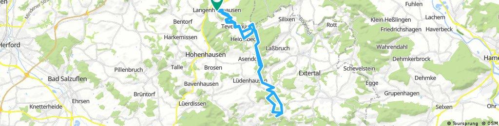 l.hausen - burg sternberg und zurück