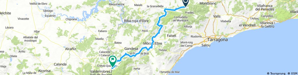 Route Spain 2017 day 5
