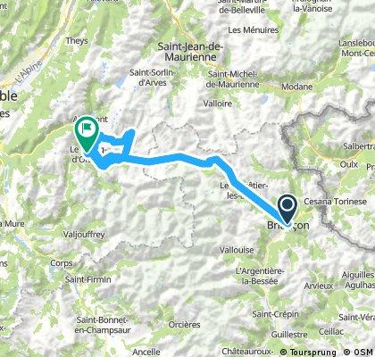 Francia 2018-2 Briancon-Le Bourg-d'Oisans