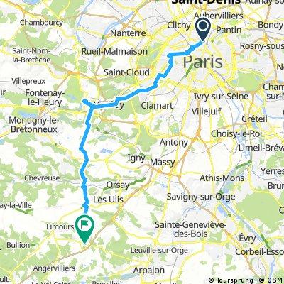 Paris first 51 km (31mILE
