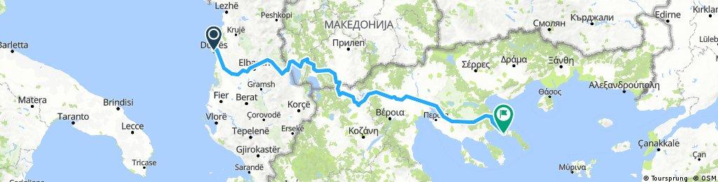 Εγνατία Οδός - part 1 - Durrës - Αγίου Όρους