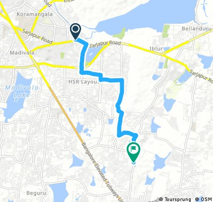 typical office route