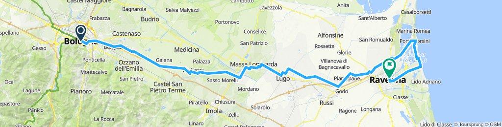 Bologna - Marina di Ravenna