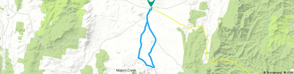 Loop de Araluen-Majors Creek