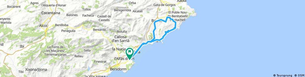 CALPE-MORAIRA-TEULADA-BENISA