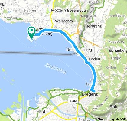 Day 7 - Lindau-Bregenz-Lindau