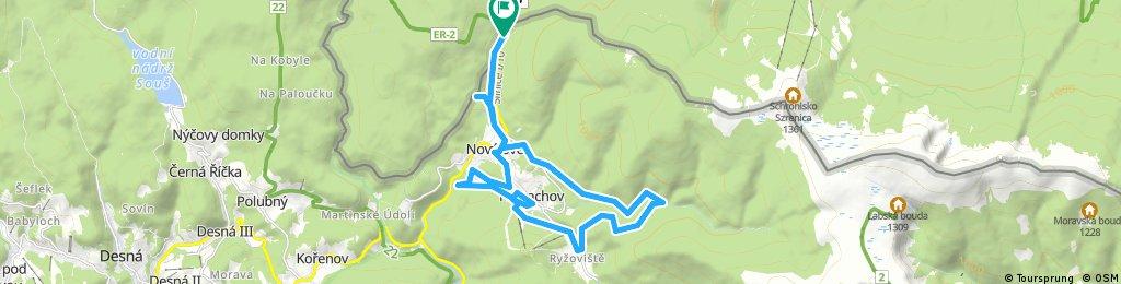 1 dzień SzP - 3K - Tour de Harrachov