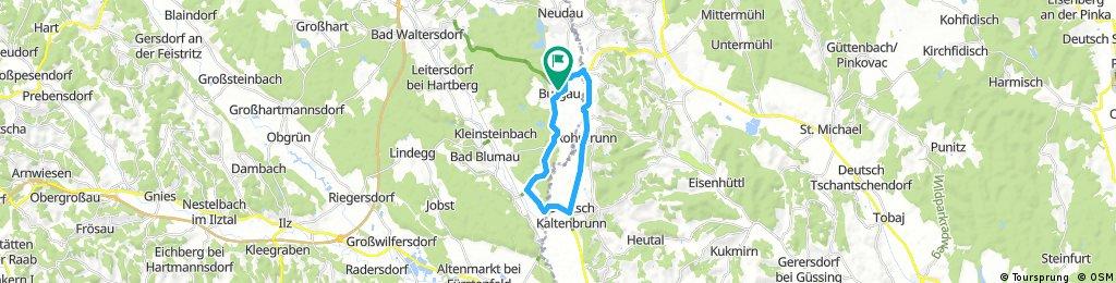 Radstrecke Triathlon 2018