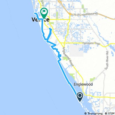 Cycling Routes And Bike Maps In And Around Manasota Key Bikemap