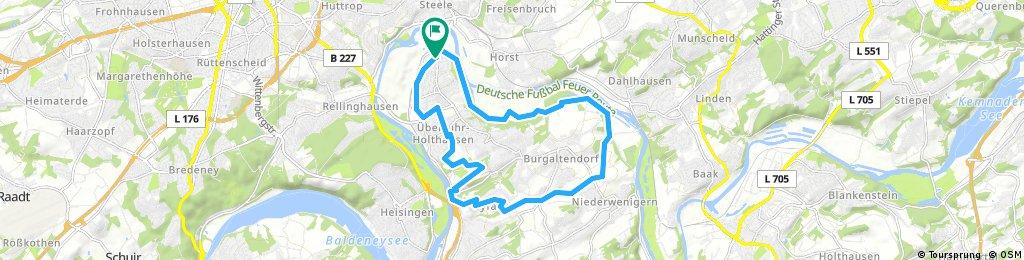 Cross MTB rund um Ruhrhalbinsel