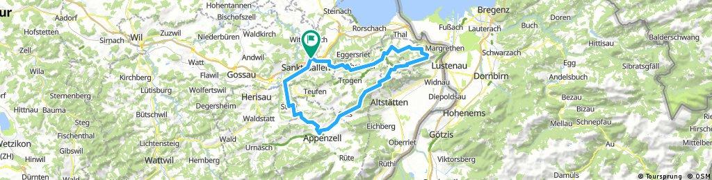 Appenzeller Route Nr 42