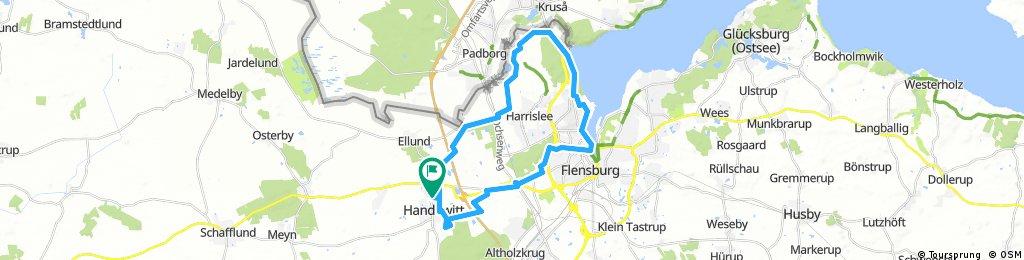 Rundtour Handewitt-Ellund-NiehuusHarrislee-FlensburgHandewitt